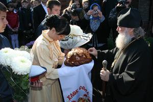 Встреча Архиепископа Ростовского в станце Кривянской