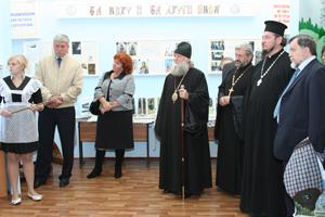 Члены православной Миссии в школе №72 станицы Кривянской